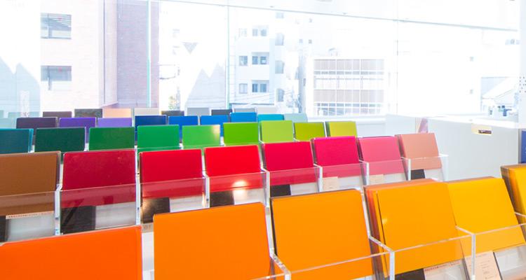 中川ケミカルの色彩研究について
